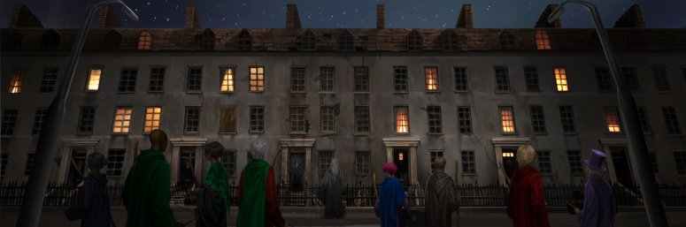 5.04 Grimmauld Place - Order of Phoenix Outside Grimmauld Place B5C4M1